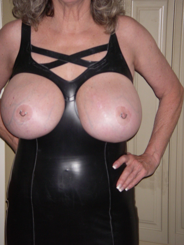 image Brunette milf giant natural tits sexy masturbation