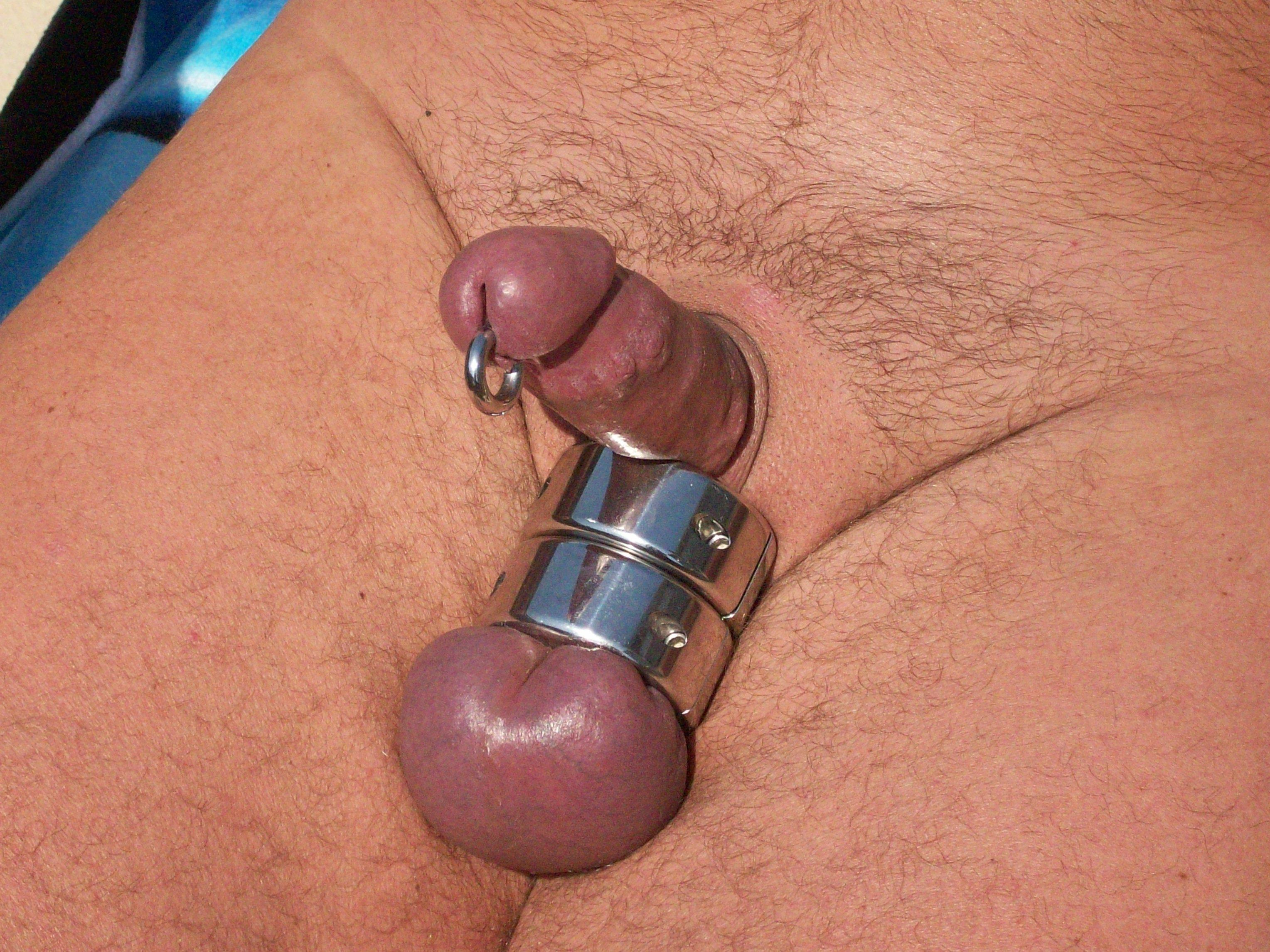 Gay stretched balls