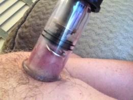 Pumping pierced nipples