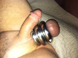 Sex with Ball weights
