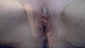 Enjoying my piercing